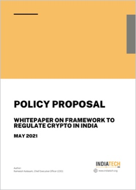Policy framework to regulate crypto in India